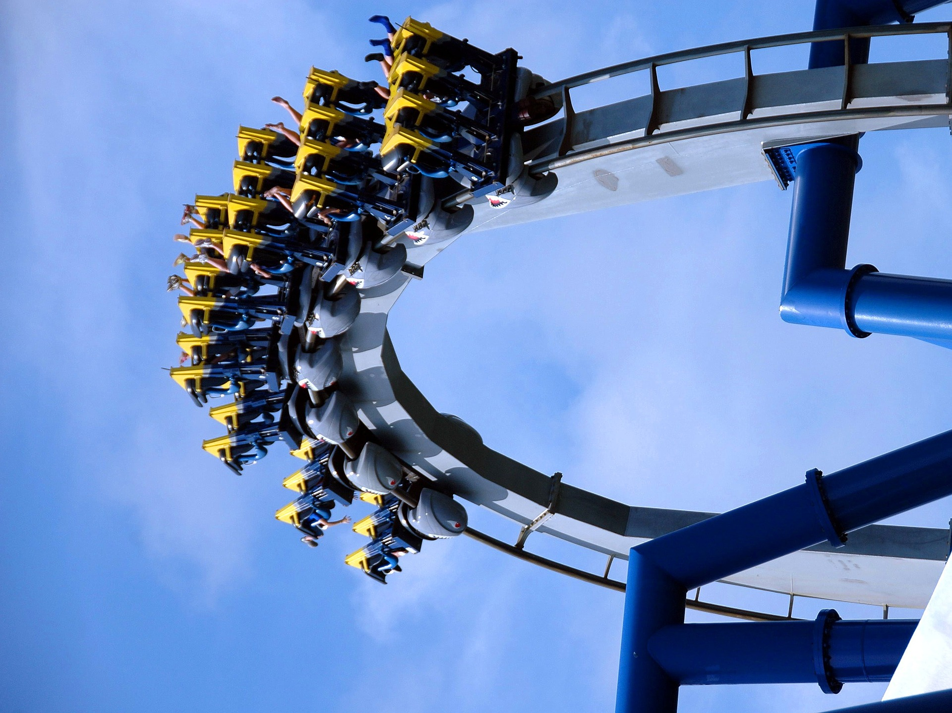 Scream if you want to go faster – is the life of an entrepreneur really like a roller coaster ride?